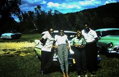 My two aunts and they men folks. LOL!