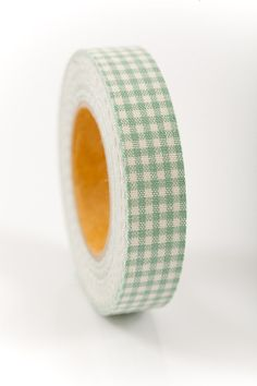 Fabric Tape  FT 016  Gingham  Sherbert by LoveMyTapes on Etsy