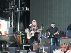 Willie Nelson at the Southern Ground Music and food festival in Nashville, TN