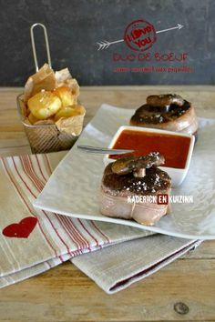 Dégustation chateaubriand boeuf - Duo de boeuf sauce piquillos | Kaderick en Kuizinn