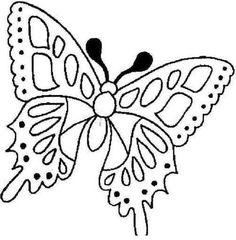 Moldes de bonitas Mariposas para pintar :