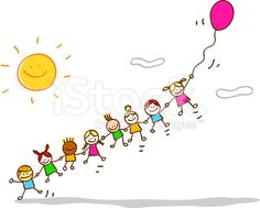 stock-illustration-16343031-happy-summer-kids-flying-with-balloon-cartoon-illustration.jpg (556×446)