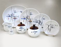 Richard Koppe tableware for the 'Well of the Sea' restaurant
