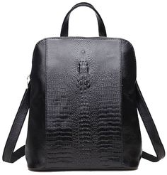 c0e12bf045c Coolcy New Fashion Casual Women Genuine Leather Backpack Shoulder Bag --  This is an Amazon