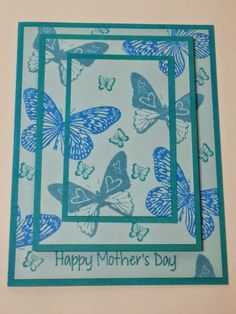 Happy Mother's Day made primarily with Unity Stamps