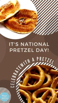 My Fav Pretzel places: Auntie Annie's, Mellow Mushroom & WillowTree in Sanford, Florida! Easy Snacks, Healthy Snacks, Pretzel Day, Sanford Florida, Days Of The Year, Auntie, Stuffed Mushrooms, Photo And Video, Breakfast