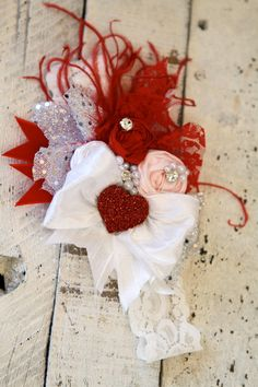 Vintage Valentines Day Headband by London Raquel by londonraquel, $38.99
