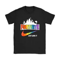 628926e7 Fortnite Just Love It Nike LGBT Support Shirts in 2019 | Products | Lgbt  support, Lgbt, Lgbt flag