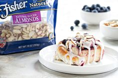 Blueberry Sweet  Rolls will make any breakfast memorable. Sweet and sinful!