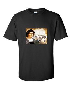 """Columbus Day"" short sleeve t-shirt"