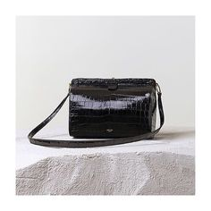 """Céline Croc Handbag"