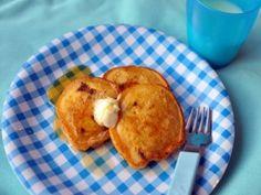 Yummy pancakes with hidden veggies