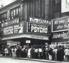 Opening of the Grandaddy of the horror film Psycho