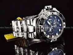 Invicta Reserve Men 50mm Excursion Swiss Ronda 5040.D Chronograph Bracelet Watch 886678139668 | eBay