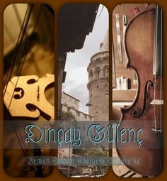 Violin shop of Dincay Gulenc Galata İstanbul#Dinçay Gülenç Keman yapım Atölyesi Galata İstanbul