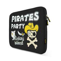 Pirates Velvet Case For 15.6 Inch Tablet