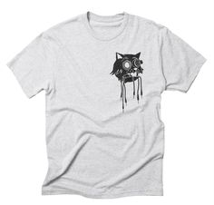 Curiosity killed my cat. Patching and Tweaking brought him back. Modular Analogue Eurorack T-Shirt design from Son of Sine. Curiosity, All Design, Sons, Shirt Designs, Autumn, Cat, Winter, Illustration, T Shirt