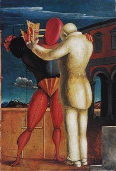 Il figliol prodigo (Giorgio De Chirico, 1922, Milano, Museo del 900)