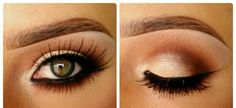 PERFECT neutral eyeshadow....would look great with my blue eyes