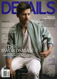 Nikolaj Coster-Waldau for Details Magazine by Mark Seliger