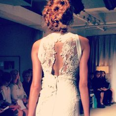 40s/50s inspirations translated at Anna Maier into one of this season's big trends: frames lace backs