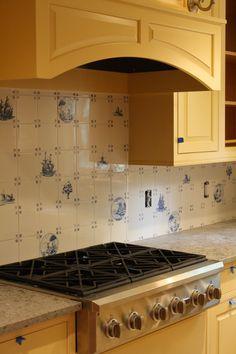 delft kitchen tiles