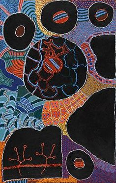 Ruby Tjangawa Williamson / Puli Murpu (Mountain Range) 2010 198 x 122 cm