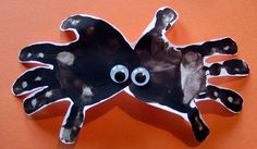 Fun Halloween Activities, Crafts, and Free Printables -love the spider!