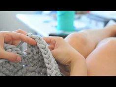 DIY Schale/Korb stricken und häkeln mit Zpagetti Teil 3
