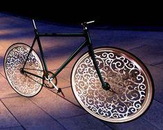 A Marcel Wanders bicycle by Melanie in New York
