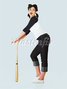 pin up girl baseball retro - Google Search