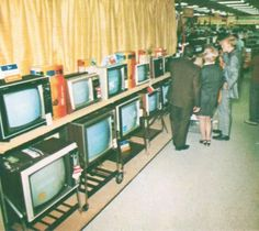 State-of-the-art electronics department at Murphy's Mart,1970