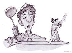 Character Designer: Jason Deamer. ratatouille