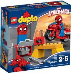 Moto Spiderman Duplo - Lego - Sets de Construcción - Sets de Construcción JulioCepeda.com