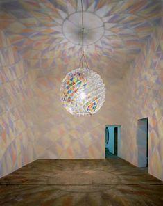 Olafur Eliasson's Berlin Colour Sphere Installation Intelligent Design, Boros Bunker, Home Lighting, Lighting Design, Instalation Art, Olafur Eliasson, Berlin Art, Art Furniture, Light Art
