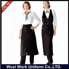 Image result for fine dining waiter uniforms Vestuarios 8f82c98d4f99a