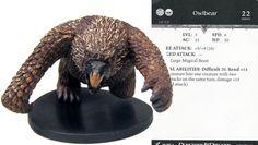 DDM Harbinger #54 Owlbear