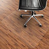"""ad: Office Marshal PVC Chair Mat for Hard Floors - 36"""" x 48""""   Multiple Sizes Available   Clear, Multi-purpose Floor Protector  Office Marshal® PVC Hard Floor Chair Mats - Designed to Ensure Genuine Quality and Guaranteed Reliability    These clear vinyl chair mats offer highly effective light transmission and allow the beauty of your floor to shine straight through. Due its many notable properties such as high impact strength and transparency, vinyl is a highly reliable material for.."""