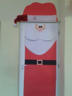 Winter door to my classroom