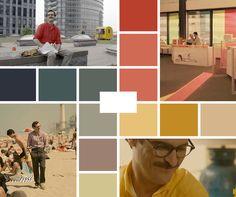 Bildergebnis für her movie color palette Color In Film, Noir Color, Movie Color Palette, Colour Pallette, Film Aesthetic, Retro Aesthetic, Light Cinema, Boris Vian, Cinema Colours
