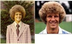 the inexcusable white 'fro! One of my friends in high school wore his hair like this! :)