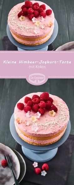 43 Schon Kleine Kuchen Rezepte Einfach Und Schnell Himbeer