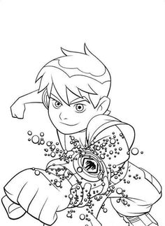 Ben 10 Free Printable Coloring Pages No 29
