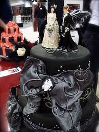 Black Wedding Cake....A MUST HAVE