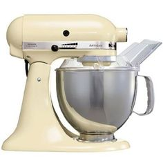 Lusting over a Kitchen Aid in cream, red, copper, white or black!!...  Apparently you can get custom made kitchen aids with all sorts of colours & prints
