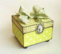 Lovely hand made trinket box!
