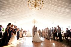 Wedding at the Grandview in Poughkeepsie, as seen on Style Me Pretty. Photography by Robin Roemer Photography.