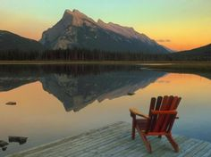 18 Heaven Places on Earth - Vermillion Lake – Banff National Park, Canada