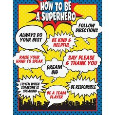 Image result for super hero classroom theme