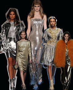 Silver sirens. Milan Fashion Week trends autumn/winter 2012